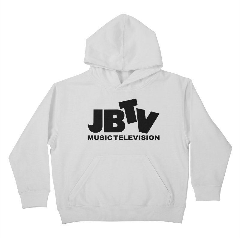 JBTV Music Television Black Kids Pullover Hoody by JBTV's Artist Shop