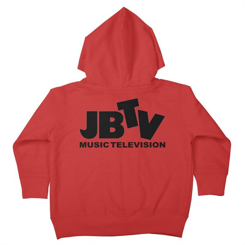 JBTV Music Television Black Kids Toddler Zip-Up Hoody by JBTV