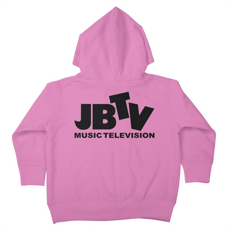 JBTV Music Television Black Kids Toddler Zip-Up Hoody by JBTV