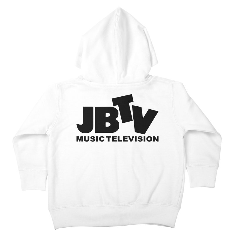 JBTV Music Television Black Kids Toddler Zip-Up Hoody by JBTV's Artist Shop