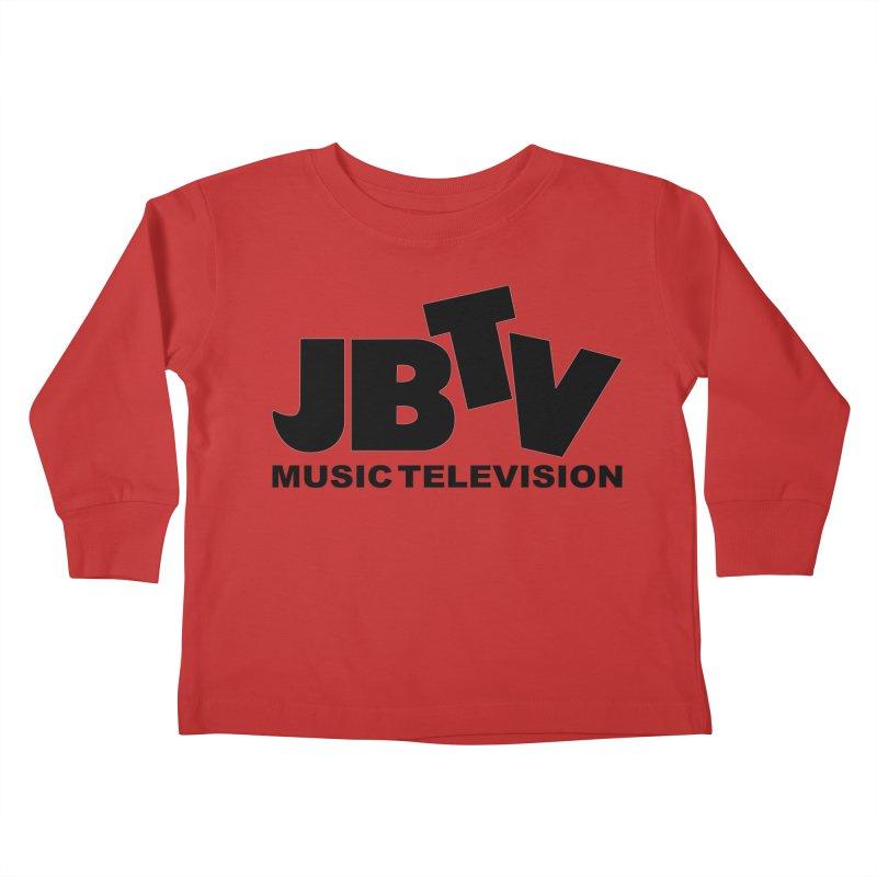 JBTV Music Television Black Kids Toddler Longsleeve T-Shirt by JBTV's Artist Shop