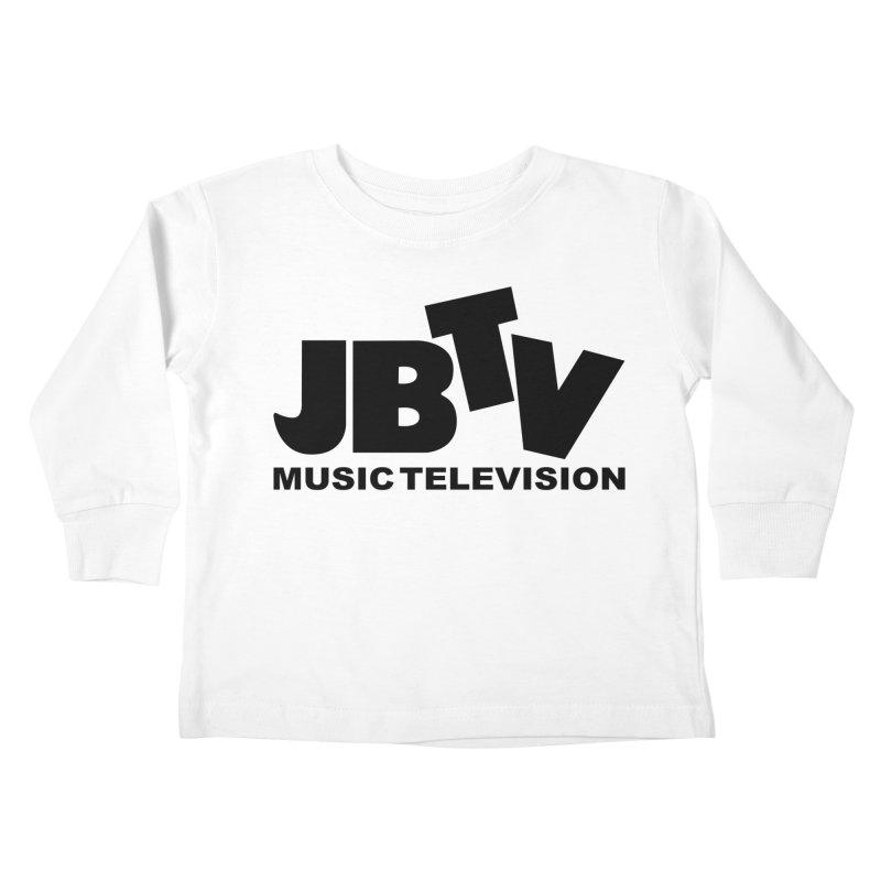 JBTV Music Television Black Kids Toddler Longsleeve T-Shirt by JBTV