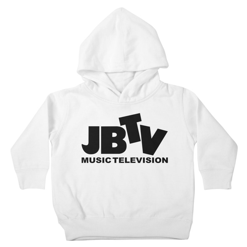 JBTV Music Television Black Kids Toddler Pullover Hoody by JBTV's Artist Shop