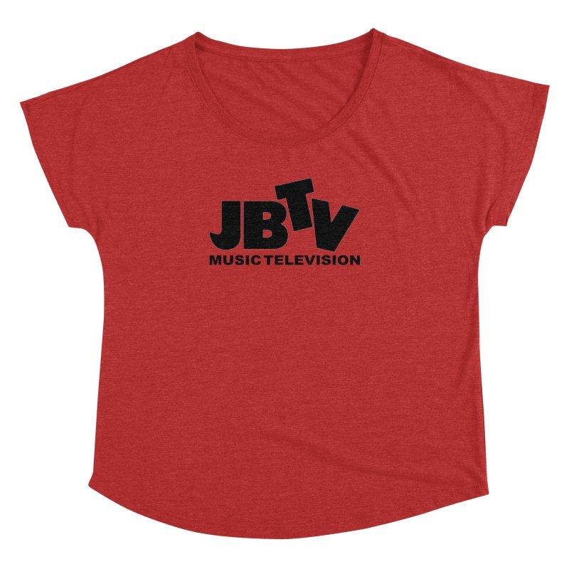 JBTV Music Television Black Women's Dolman by JBTV's Artist Shop