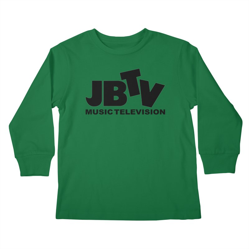JBTV Music Television Black Kids Longsleeve T-Shirt by JBTV