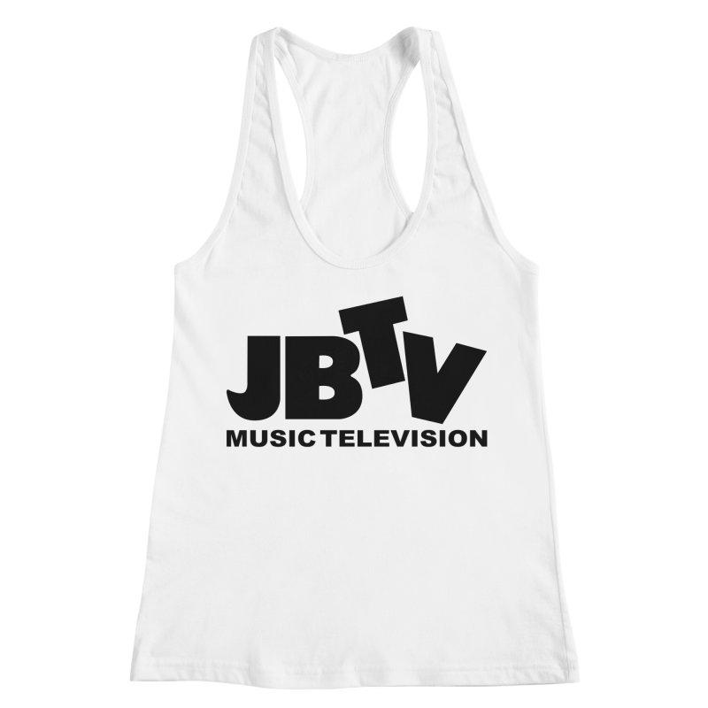 JBTV Music Television Black Women's Racerback Tank by JBTV