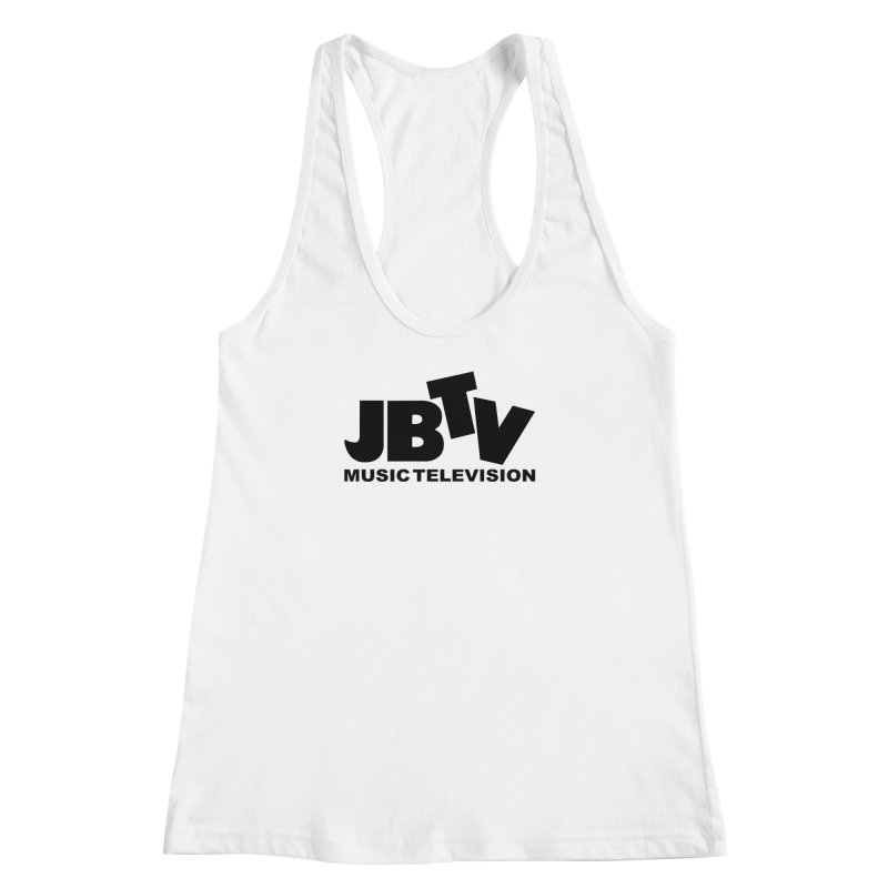 JBTV Music Television Black Women's Racerback Tank by JBTV's Artist Shop