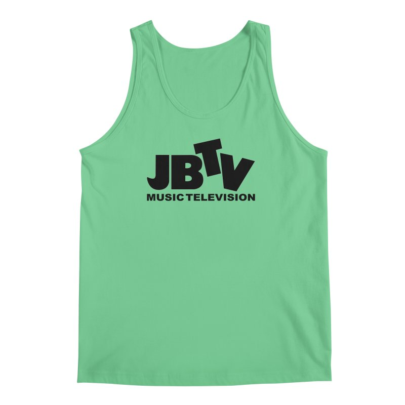 JBTV Music Television Black Men's Tank by JBTV's Artist Shop