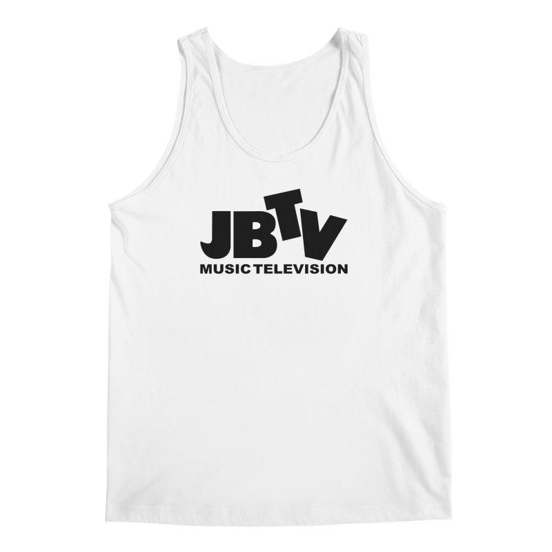 JBTV Music Television Black Men's Tank by JBTV's Artist Shop