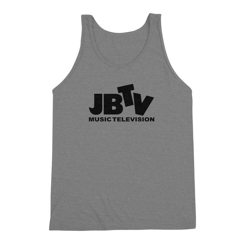 JBTV Music Television Black Men's Triblend Tank by JBTV
