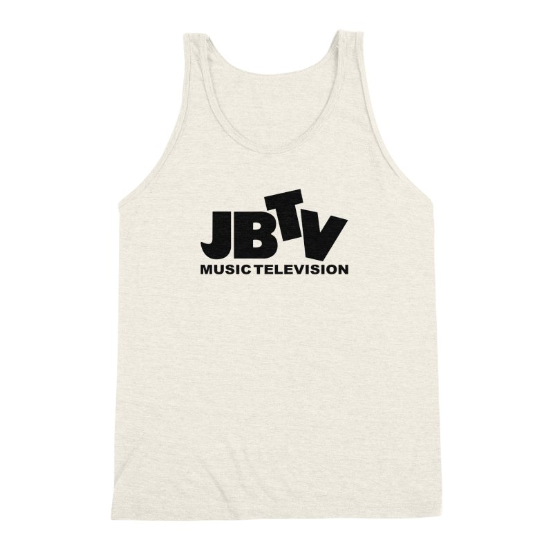 JBTV Music Television Black Men's Triblend Tank by JBTV