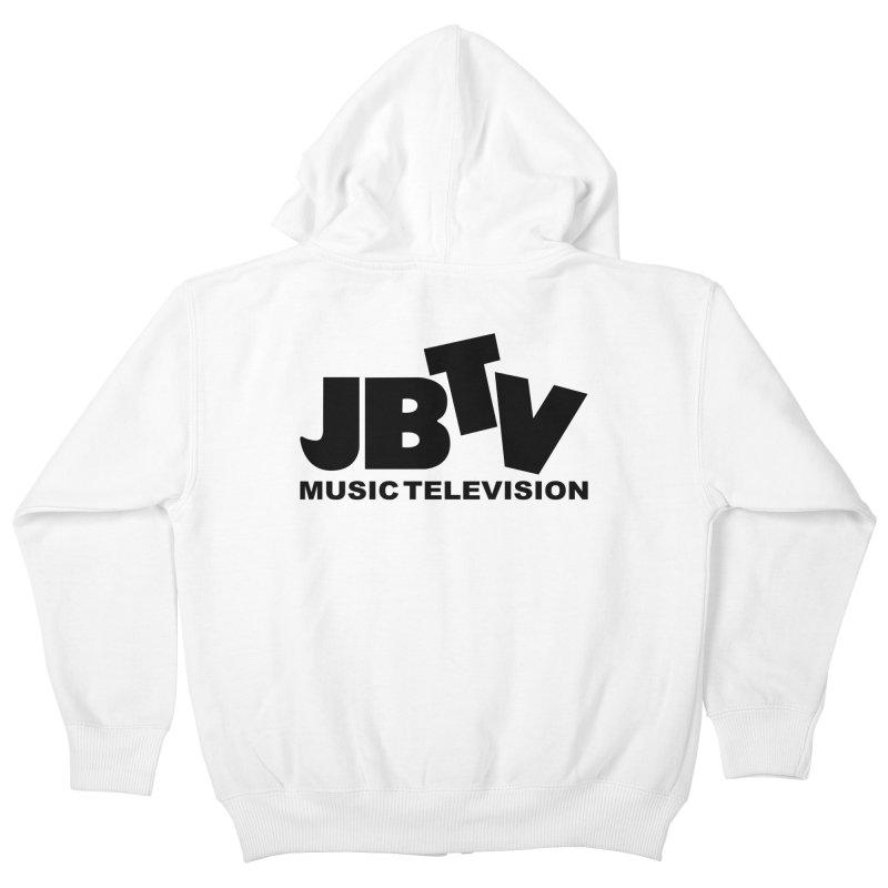 JBTV Music Television Black Kids Zip-Up Hoody by JBTV's Artist Shop