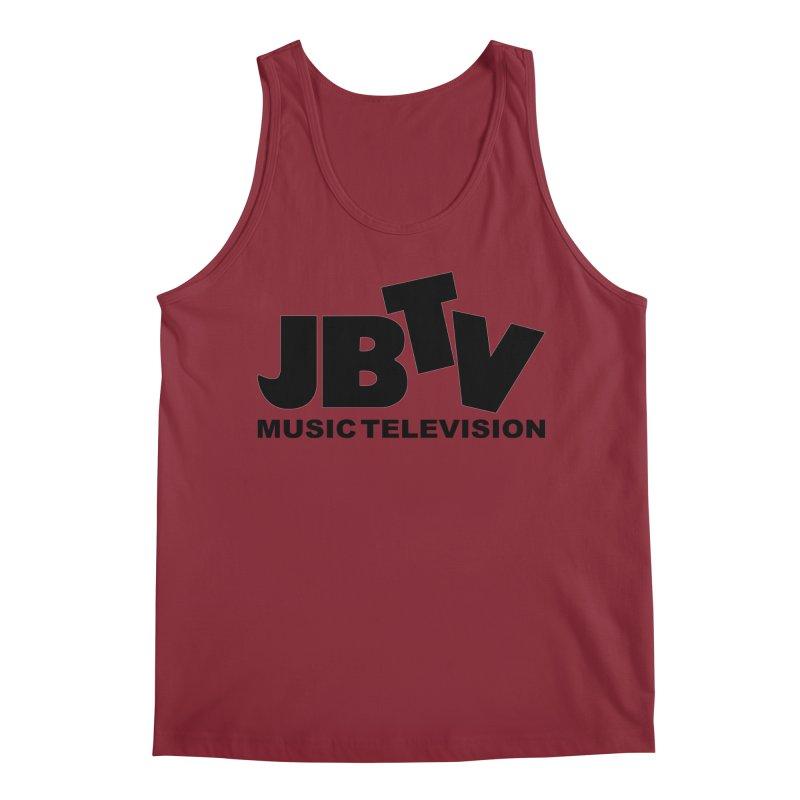 JBTV Music Television Black Men's Regular Tank by JBTV