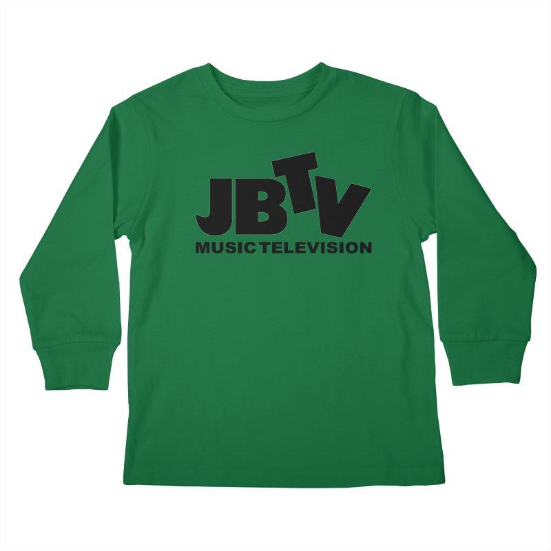 JBTV Music Television Black Kids Longsleeve T-Shirt by JBTV