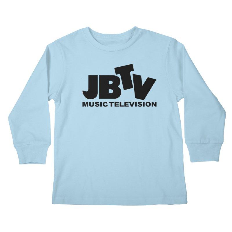 JBTV Music Television Black Kids Longsleeve T-Shirt by JBTV's Artist Shop