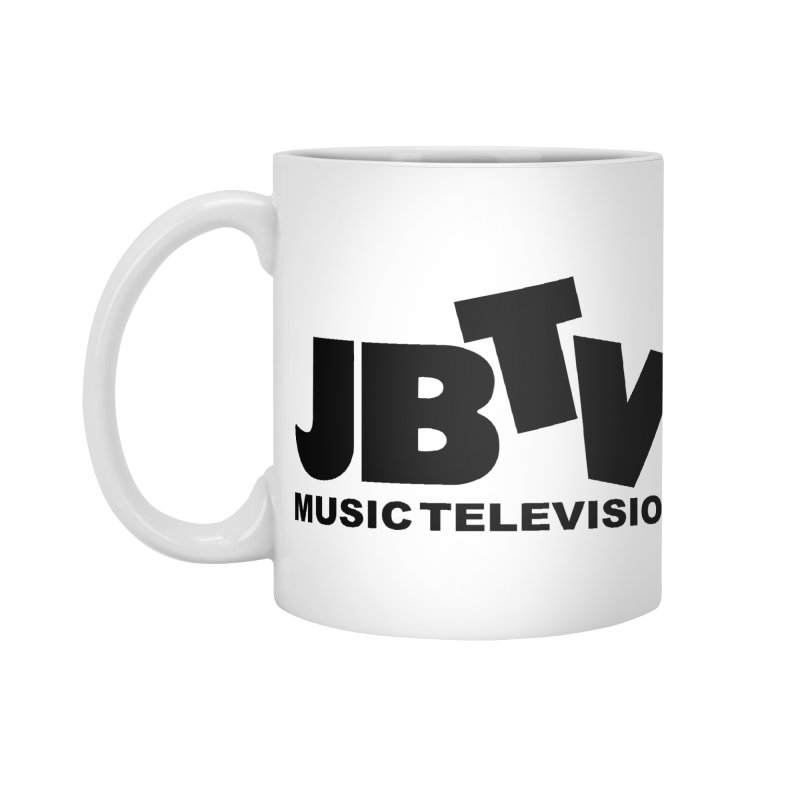 JBTV Music Television Black Accessories Standard Mug by JBTV