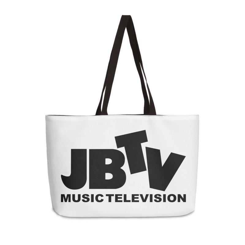 JBTV Music Television Black Accessories Weekender Bag Bag by JBTV