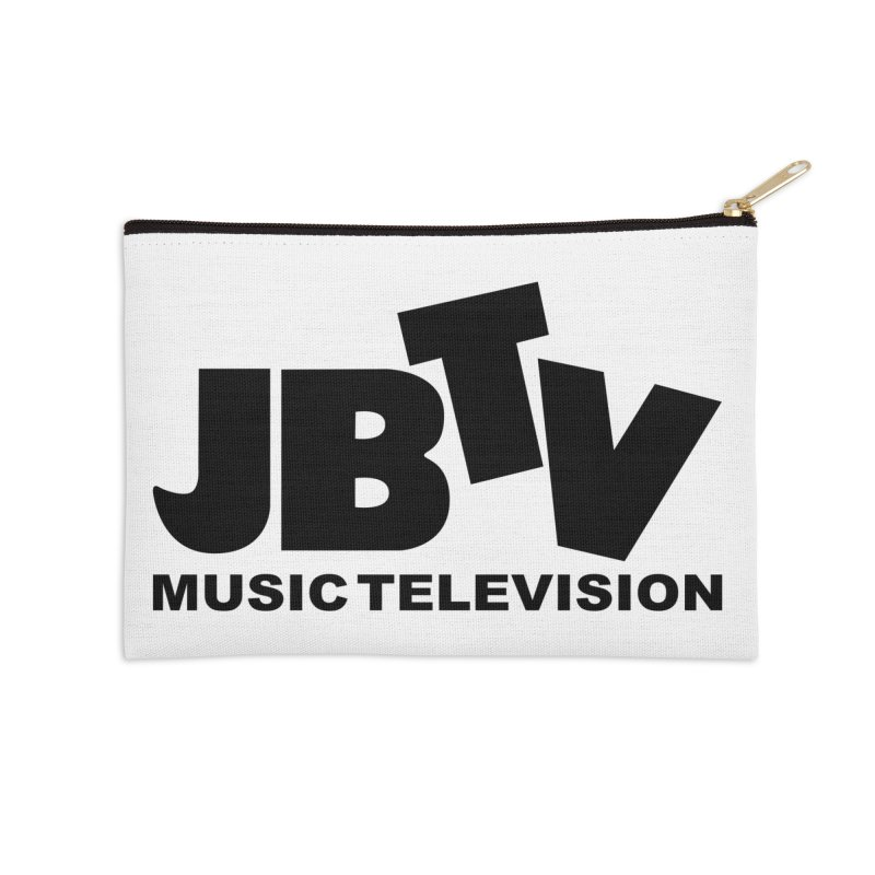 JBTV Music Television Black Accessories Zip Pouch by JBTV's Artist Shop