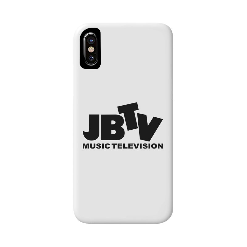 JBTV Music Television Black Accessories Phone Case by JBTV's Artist Shop