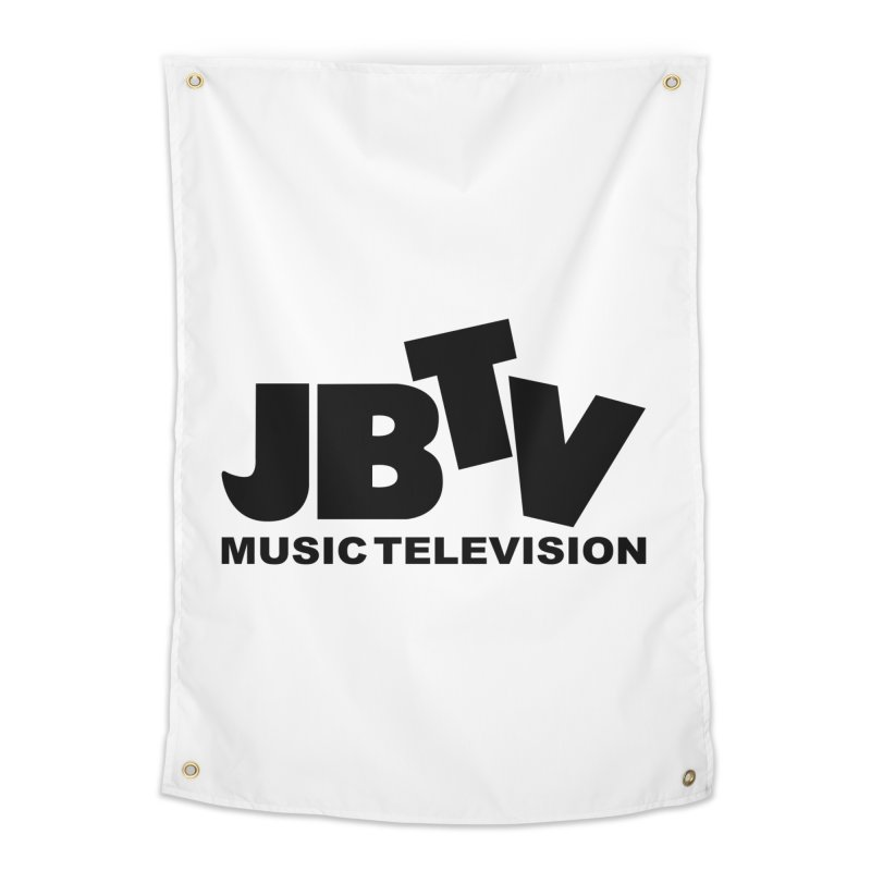 JBTV Music Television Black Home Tapestry by JBTV