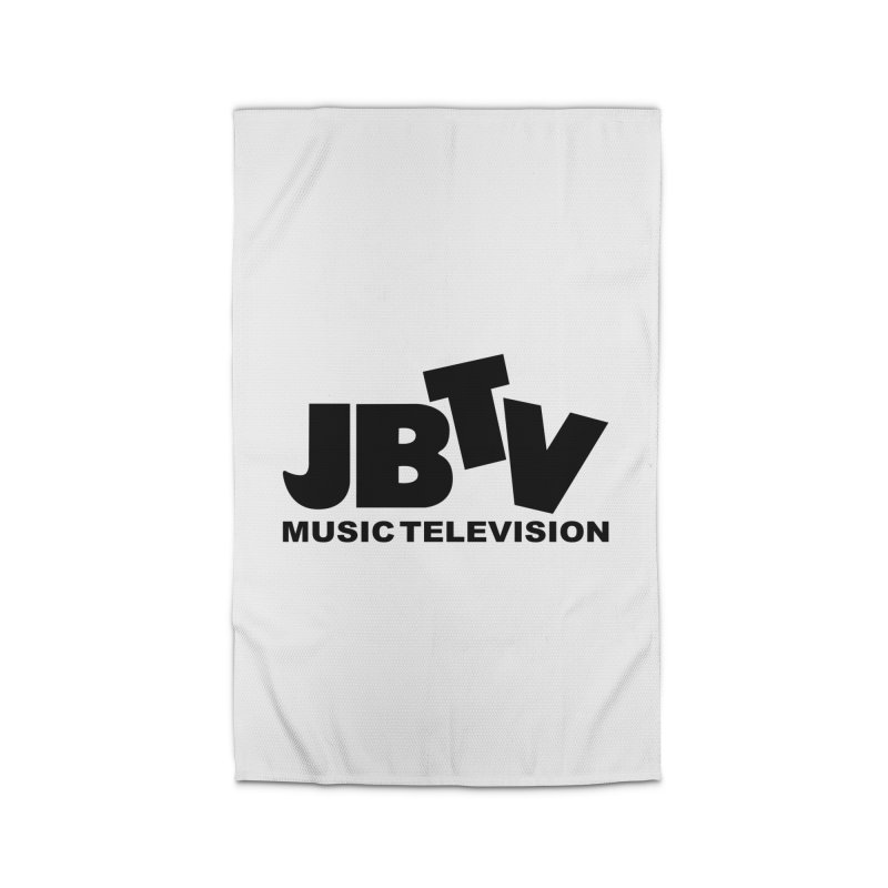 JBTV Music Television Black Home Rug by JBTV's Artist Shop