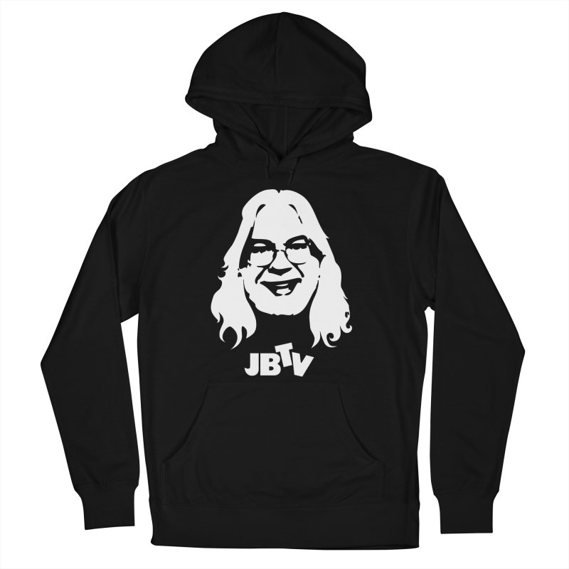 Jerry logo Women's French Terry Pullover Hoody by JBTV