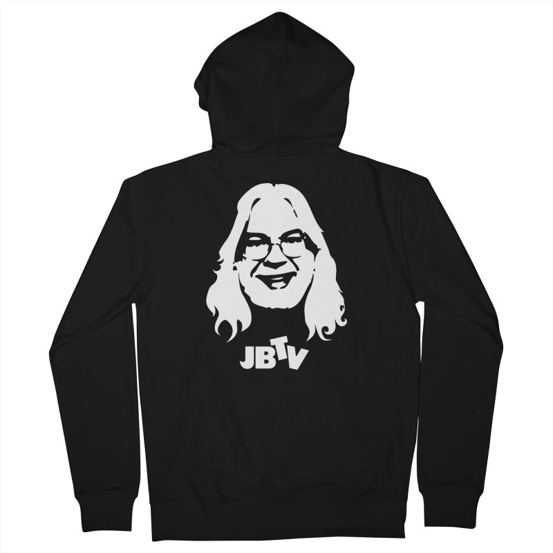 Jerry logo Women's French Terry Zip-Up Hoody by JBTV's Artist Shop