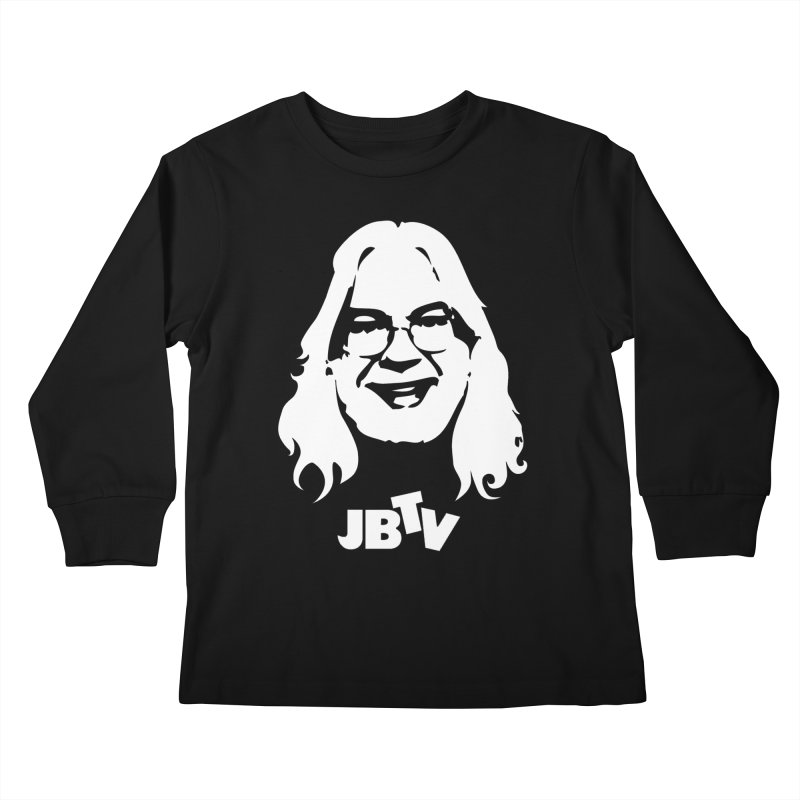 Jerry logo Kids Longsleeve T-Shirt by JBTV