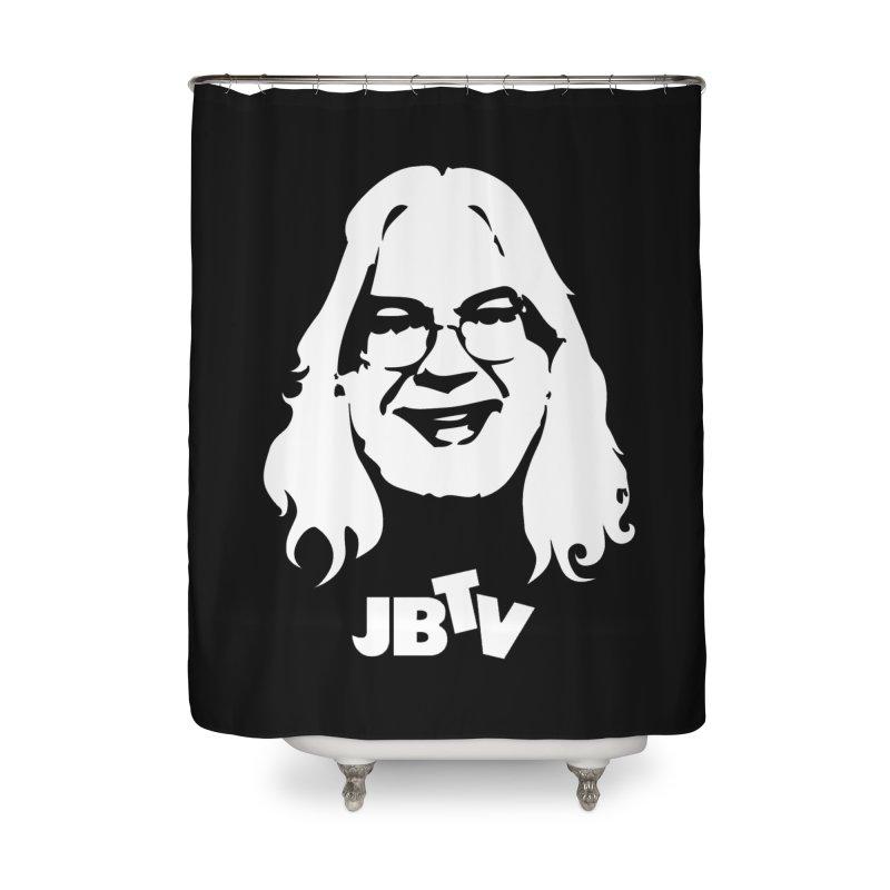Jerry logo Home Shower Curtain by JBTV's Artist Shop