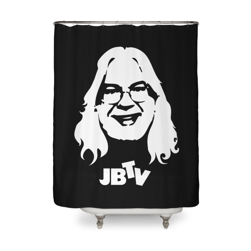 Jerry logo Home Shower Curtain by JBTV