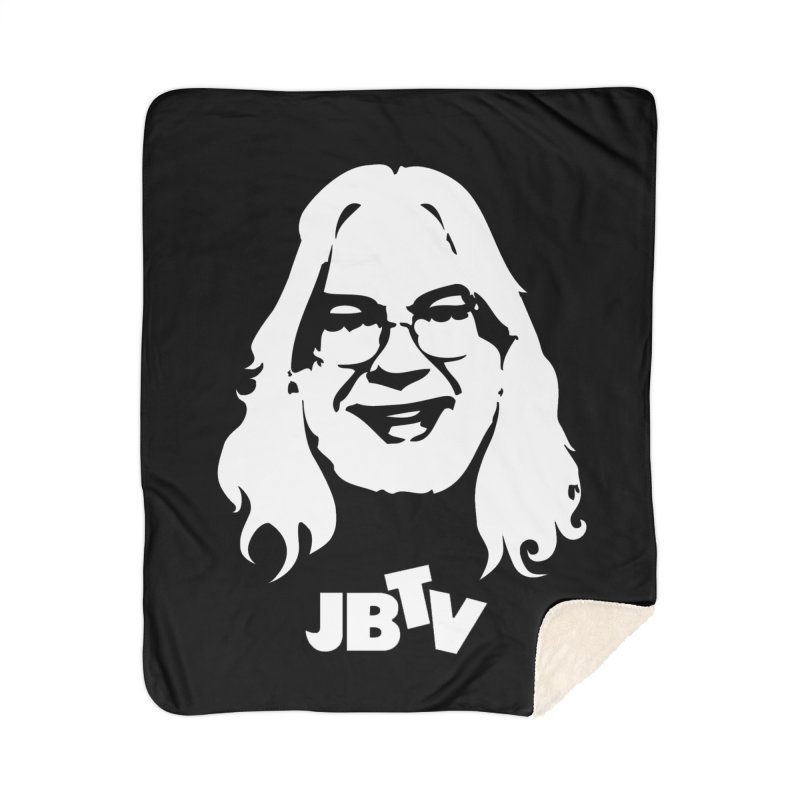 Jerry logo Home Sherpa Blanket Blanket by JBTV