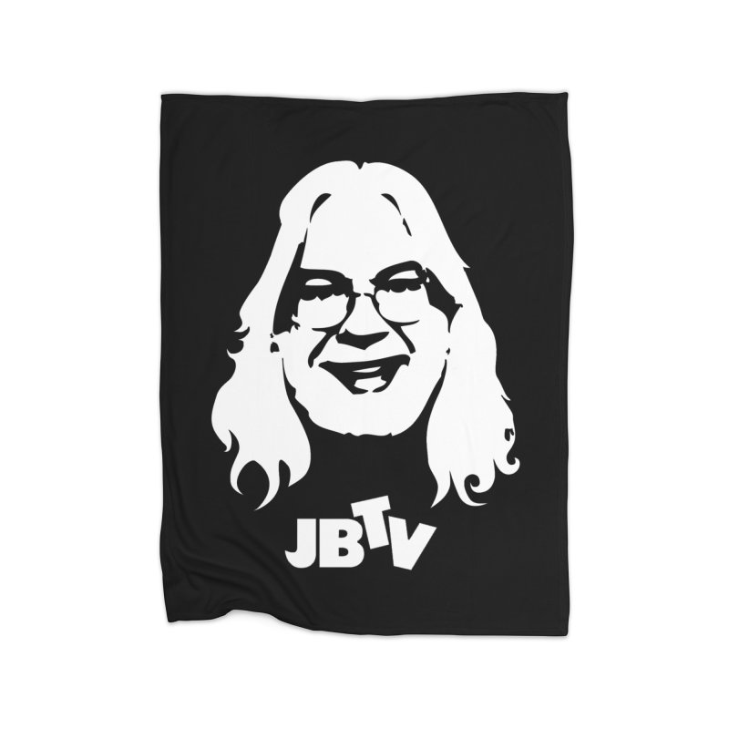 Jerry logo Home Blanket by JBTV's Artist Shop