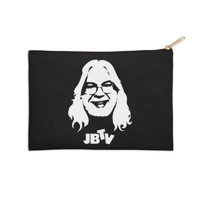 Jerry logo Accessories Zip Pouch by JBTV's Artist Shop
