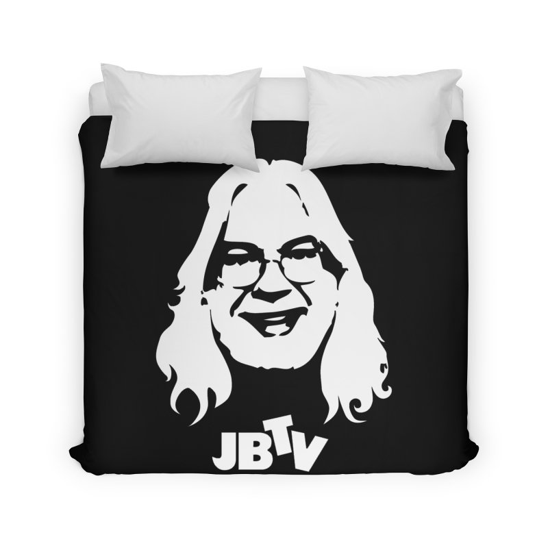 Jerry logo Home Duvet by JBTV's Artist Shop