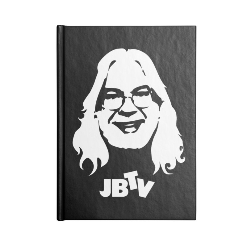 Jerry logo Accessories Lined Journal Notebook by JBTV