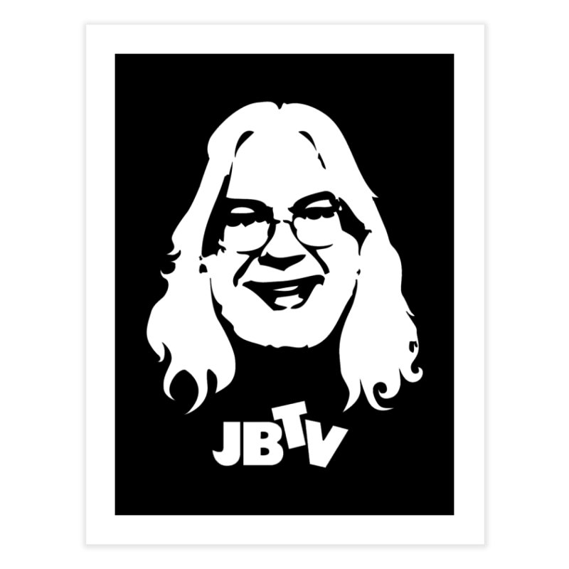 Jerry logo Home Fine Art Print by JBTV's Artist Shop