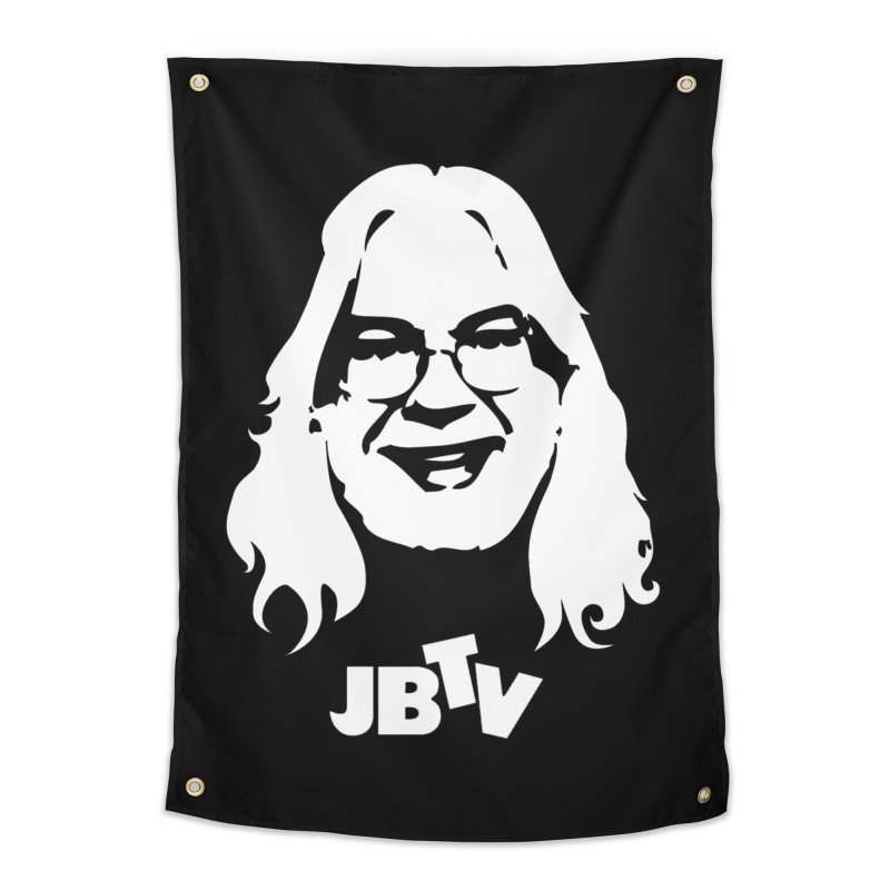 Jerry logo Home Tapestry by JBTV