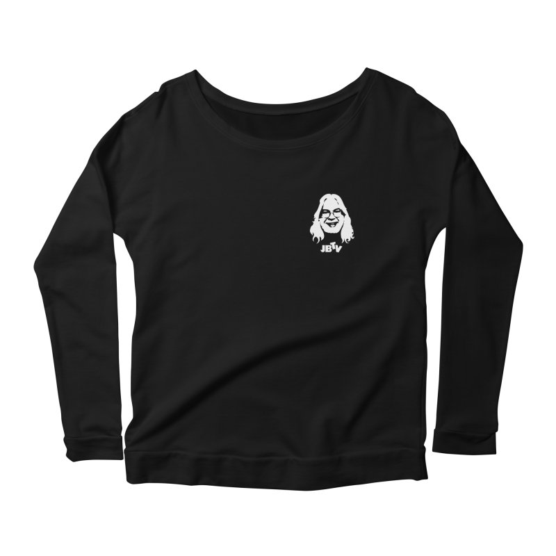 Jerry JBTV Pocket Women's Longsleeve Scoopneck  by JBTV's Artist Shop