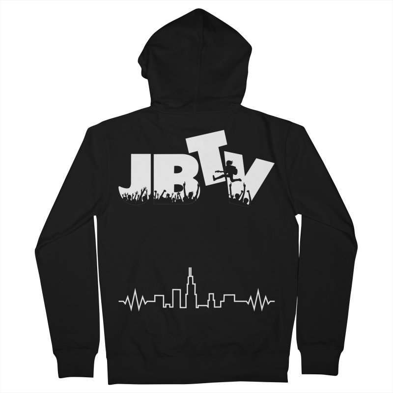JBTV T Men's Zip-Up Hoody by JBTV's Artist Shop