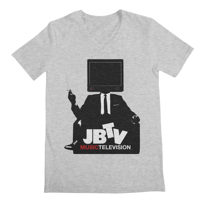 MAD FOR JBTV Men's V-Neck by JBTV's Artist Shop