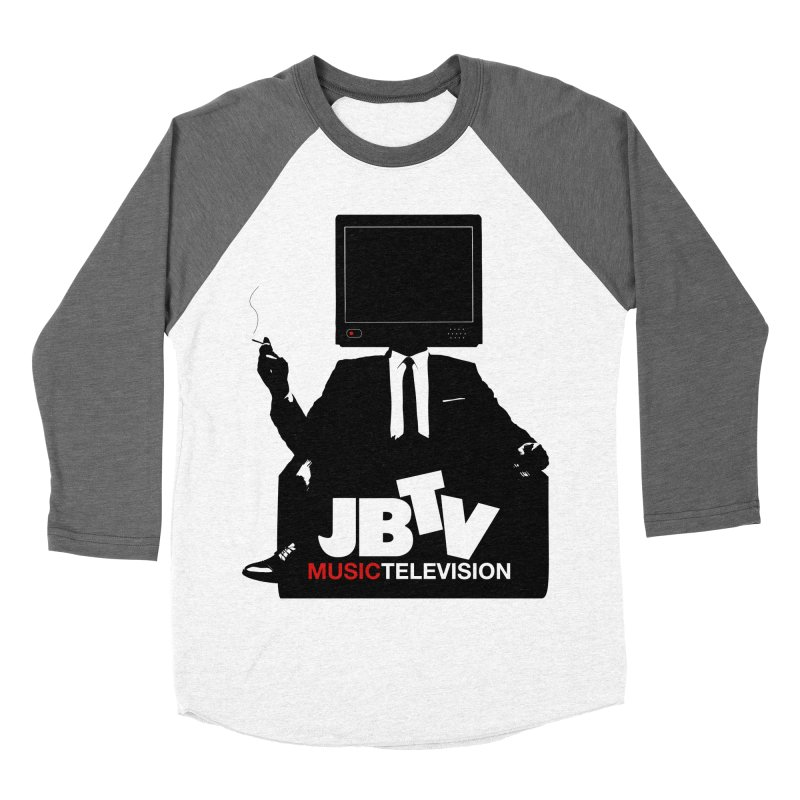 MAD FOR JBTV Women's Baseball Triblend Longsleeve T-Shirt by JBTV