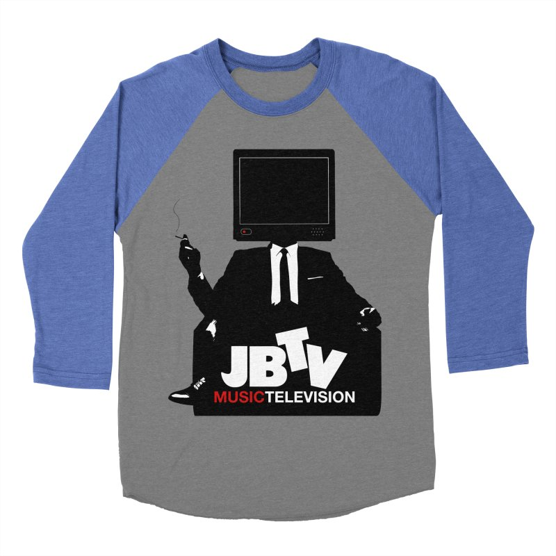 MAD FOR JBTV Women's Baseball Triblend T-Shirt by JBTV's Artist Shop