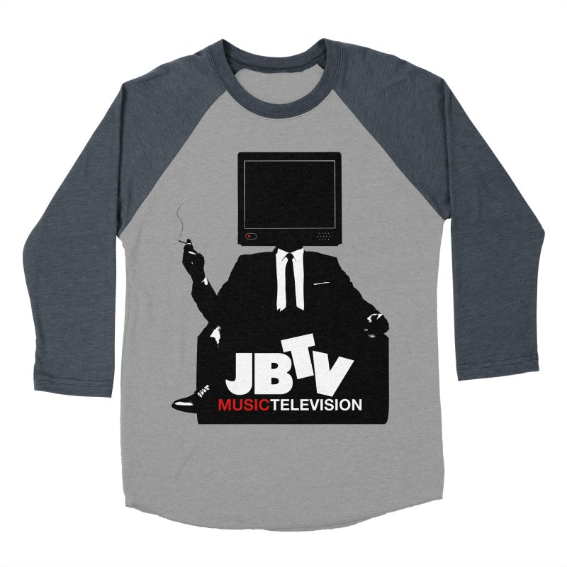 MAD FOR JBTV Women's Baseball Triblend Longsleeve T-Shirt by JBTV's Artist Shop