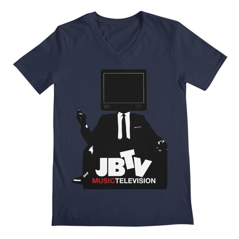 MAD FOR JBTV Men's Regular V-Neck by JBTV's Artist Shop