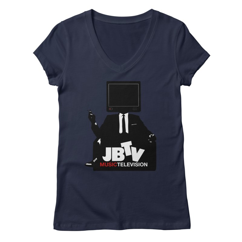 MAD FOR JBTV Women's Regular V-Neck by JBTV