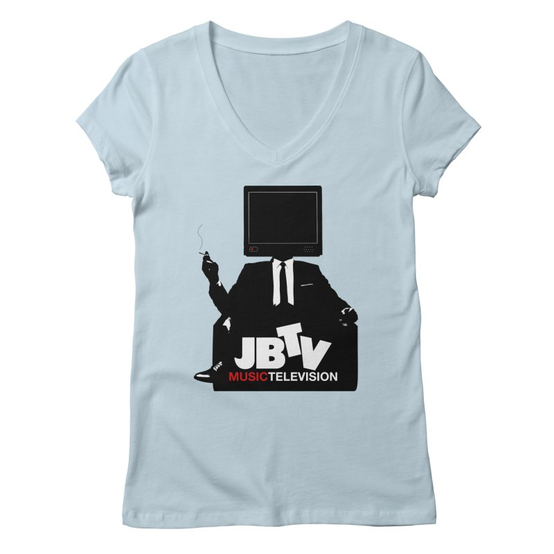 MAD FOR JBTV Women's Regular V-Neck by JBTV's Artist Shop