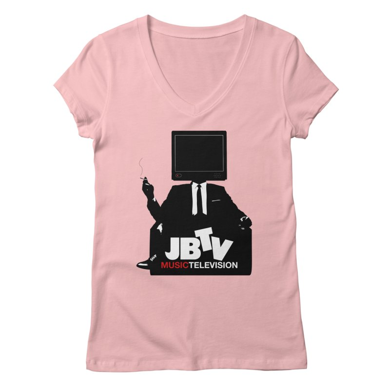 MAD FOR JBTV Women's V-Neck by JBTV's Artist Shop
