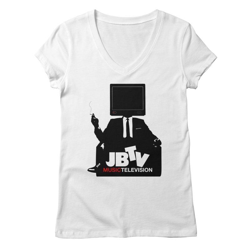 MAD FOR JBTV Women's Regular V-Neck by JBTV