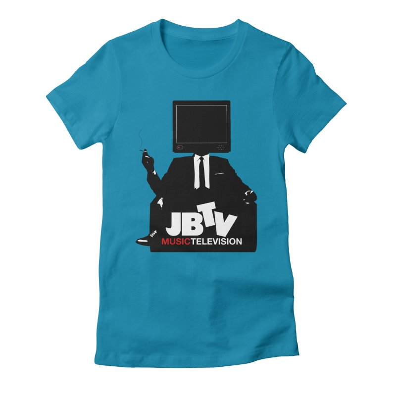 MAD FOR JBTV Women's Fitted T-Shirt by JBTV