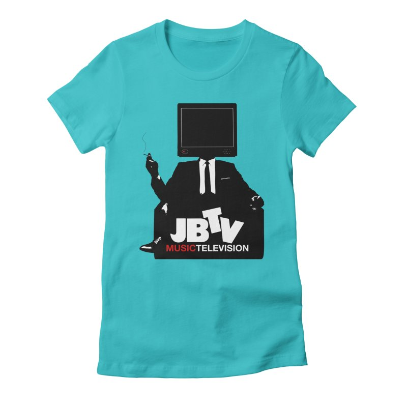 MAD FOR JBTV Women's Fitted T-Shirt by JBTV's Artist Shop